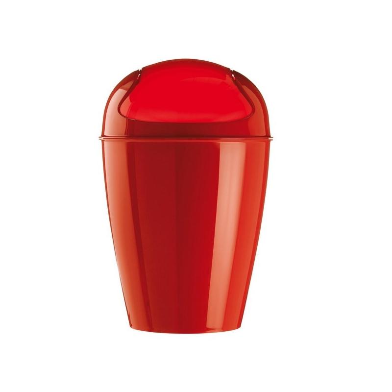 poubelle del xl rouge koziol easydistri. Black Bedroom Furniture Sets. Home Design Ideas