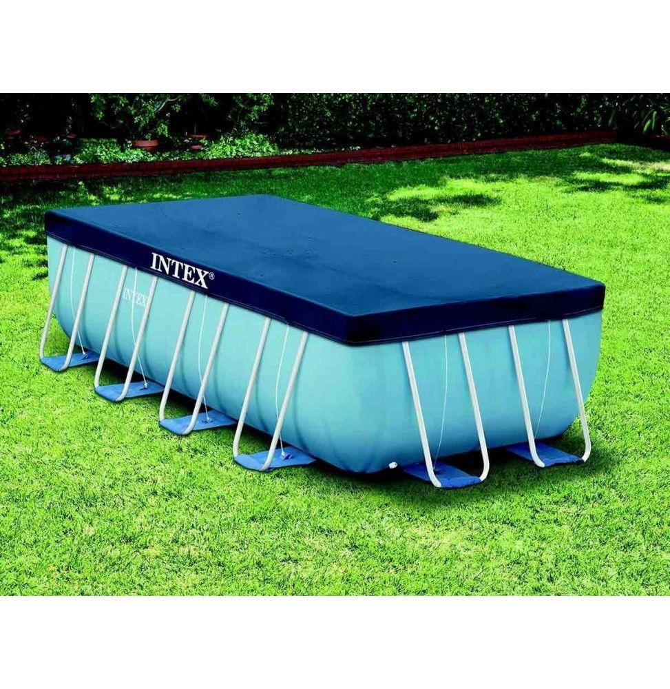 b che rectangulaire pour piscine tubulaire de 4 x 2 m intex easydistri. Black Bedroom Furniture Sets. Home Design Ideas