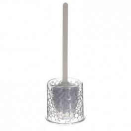 Brosse WC galets - H 36 cm x D 12 cm - PVC